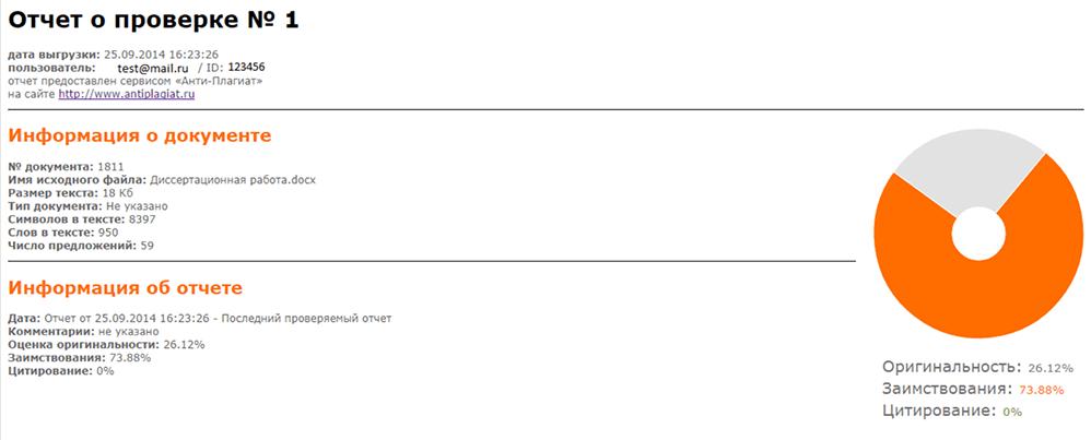 Антиплагиат онлайн проверка система проверки текста на уникальность Проверка работы на плагиат